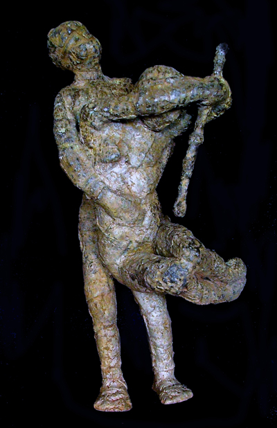 bronze sculpture_ teguh ostenrikI_recognize_the_flowers_in_you