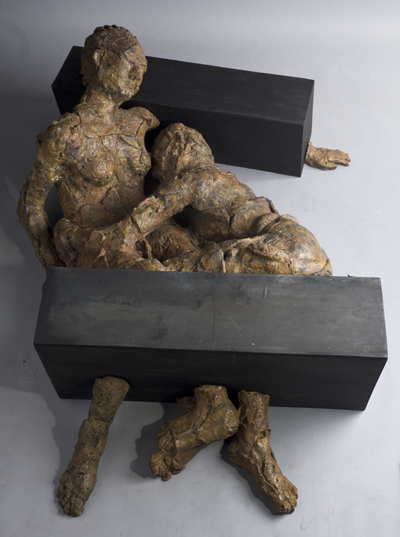 bronze sculpture_just like yesterday