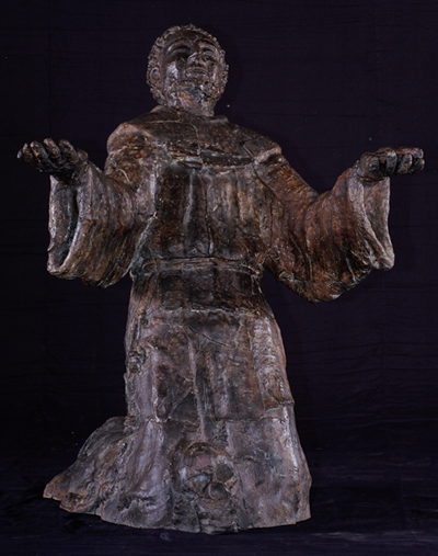 bronze sculpture_Stigmata_of_St_Francis